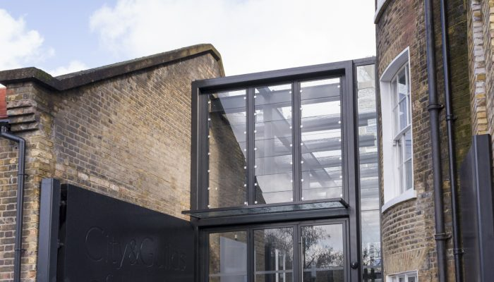 Art School Entrance featured in Architects' Journal