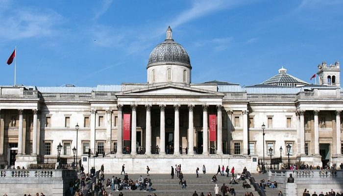 Photo credit: 'The National Gallery, Trafalgar Square' London 2013, cropped, by Morio/CC-BY-SA-3.0