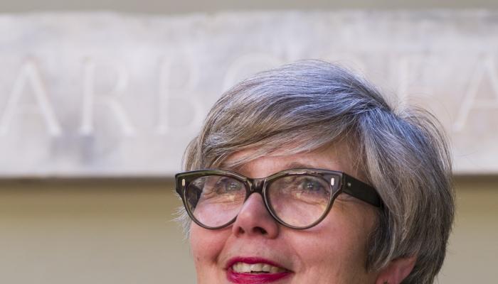 New Art School Honorary Fellow, Rosy Greenlees, OBE