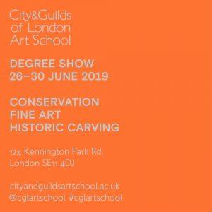 2019 Degree Show Opens Soon | City & Guilds | London Art School