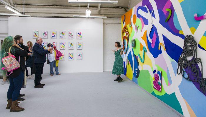 Art School Celebrates MA Fine Art Students' Achievements