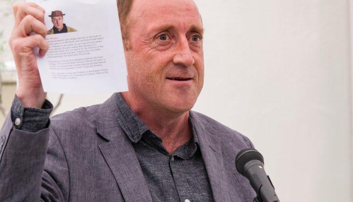 John Wigley Awarded Art School Fellow Title